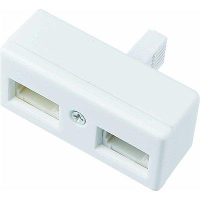 LOGIK LTD0B15 Telephone Socket Adapter - 5017416543415
