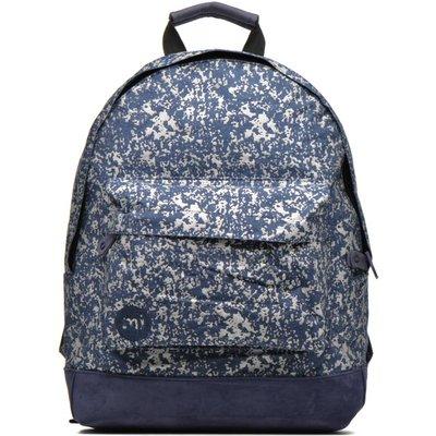 Premium Denim Spatter Backpack