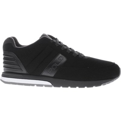 5054458034259   polo ralph lauren black polo rl laxman trainers Store