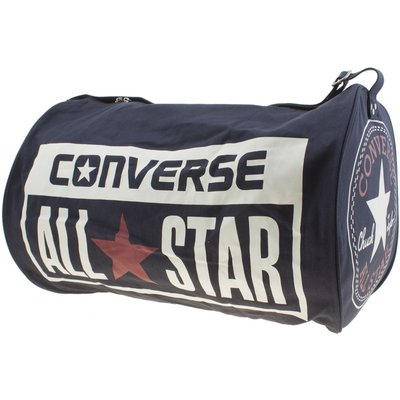 Converse Navy Canvas Legacy Duffel Bags