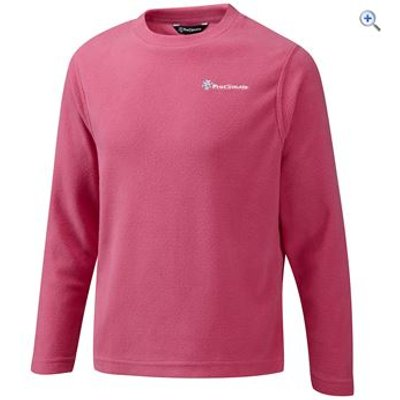 ProClimate Fern Girl's Crew Neck Microfleece - Size: 34 - Colour: Pink