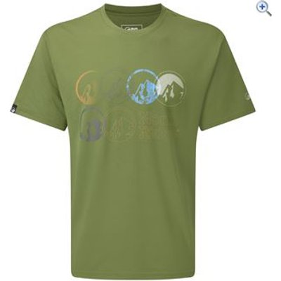 North Ridge Lachlan Men's Tee - Size: XXL - Colour: Khaki
