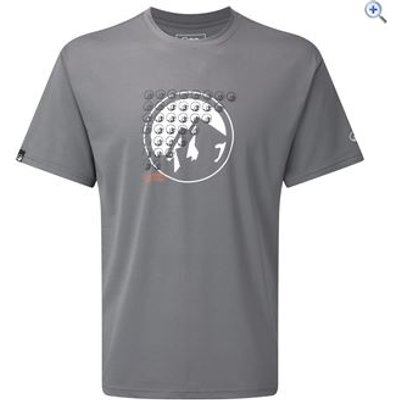 North Ridge Ferran Men's Tee - Size: S - Colour: STEEL GREY