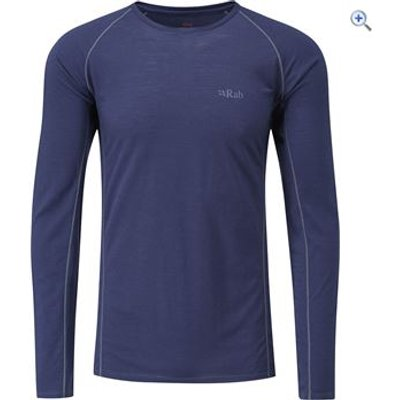 Rab Men's Merino+ 120 LS Tee - Size: XXL - Colour: Twilight Blue