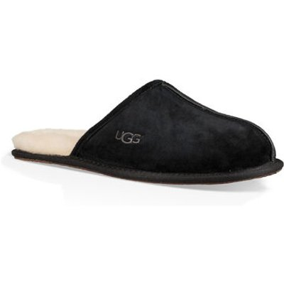 UGG Scuff Mens Slippers Black 13