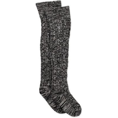 UGG Cable Knit Sock Womens Cold Weather Accessories Charcoal Heather