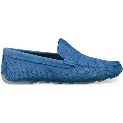 UGG Henrick Stripe Perf Mens Shoes Azul 11
