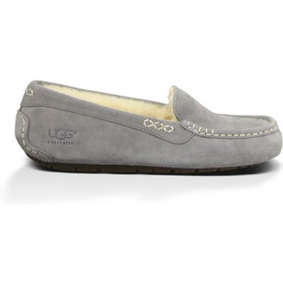 UGG Ansley Womens Slippers Light Grey 9