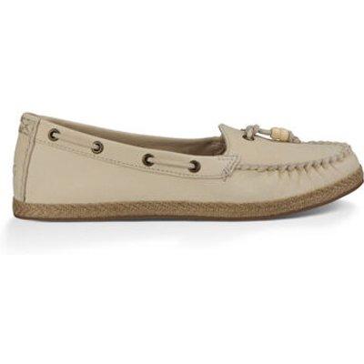 UGG Suzette Womens Shoes Antique White 4.5