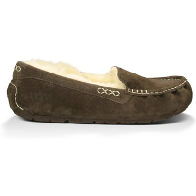 UGG Ansley Womens Slippers Chocolate 6