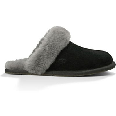 UGG Scuffette Ii Womens Slippers Black Grey 9