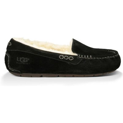 UGG Ansley Womens Slippers Black 10