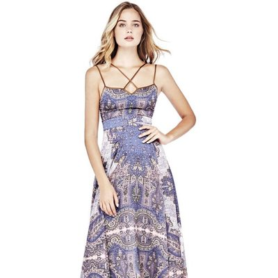 Marciano Guess Marciano Ethnic Print Dress