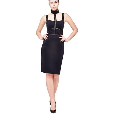 Marciano Guess Marciano Dress With Transparent Inserts