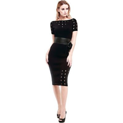 Marciano Guess Marciano Dress With Holes All Over