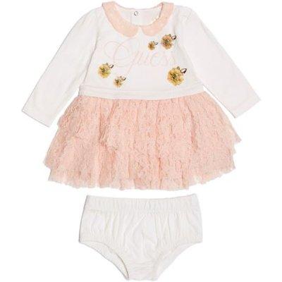 Guess Kids Dress With Flounces