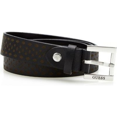Guess Geometric Print Belt