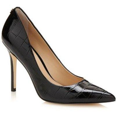 Guess Bayan Croc Print Court Shoe