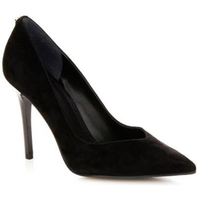 Guess Becool Suede Court Shoe