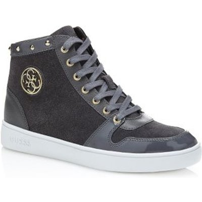 Guess Gensia High Leather Sneaker