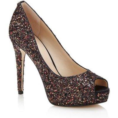 Guess Hadie Glitter Open-Toe Shoe