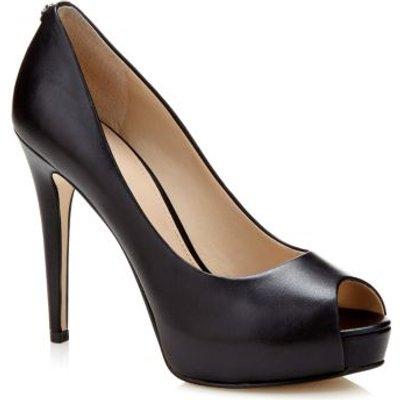 Guess Hadi Leather Peep-Toe Court Shoe