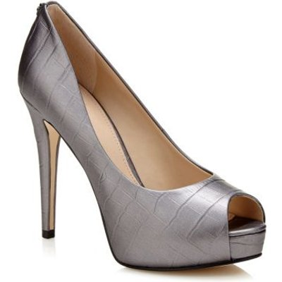 Guess Hadi Laminated Leather Court Shoe