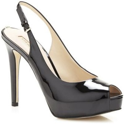 Guess Huele Peep-Toe Court Shoe