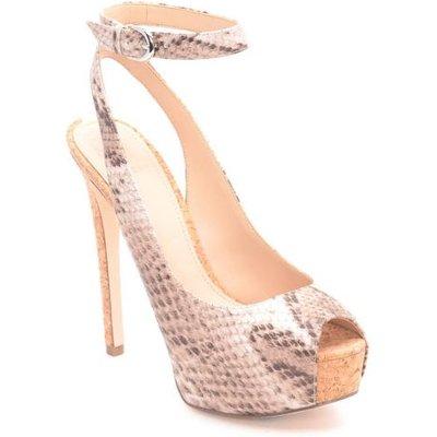 Guess Elinie Python Print Court Shoe