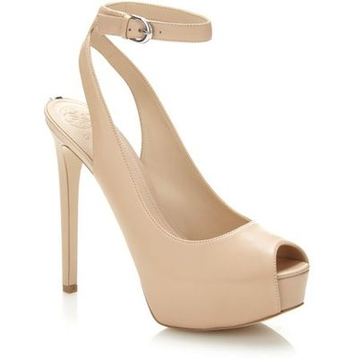 Guess Elinie Real Leather Court Shoe