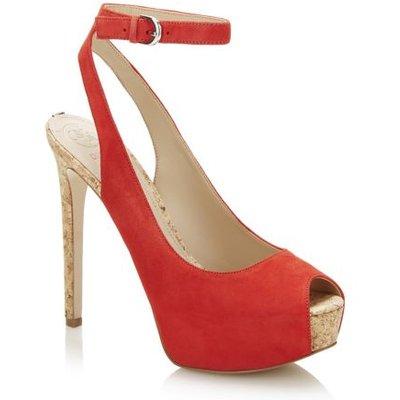 Guess Elinie Peep-Toe Court Shoe