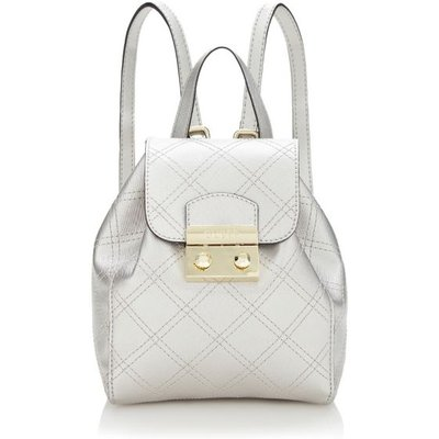 Guess Aria Strap Pattern Mini Backpack