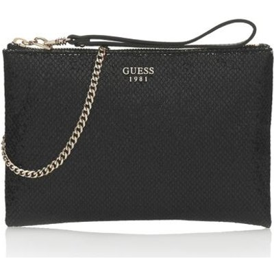 Guess Xenia Glitter-Look Clutch