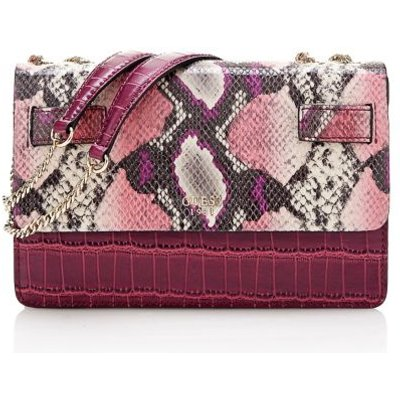Guess Cate Croc And Python Crossbody