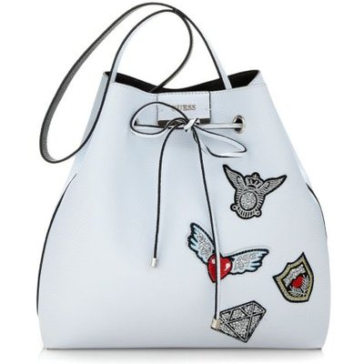 Guess Bobbi Bucket Bag With Embroidery