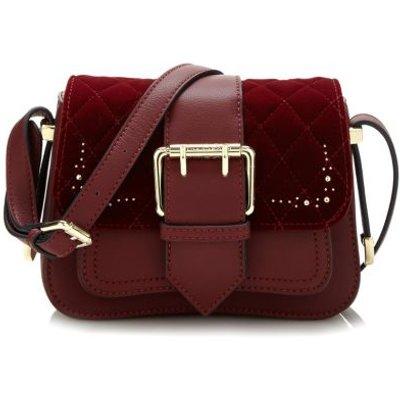 Guess Sissi Velvet Crossbody Bag