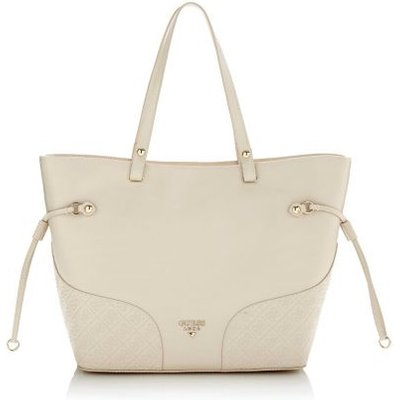Guess Sky Side Strap Leather Shopper