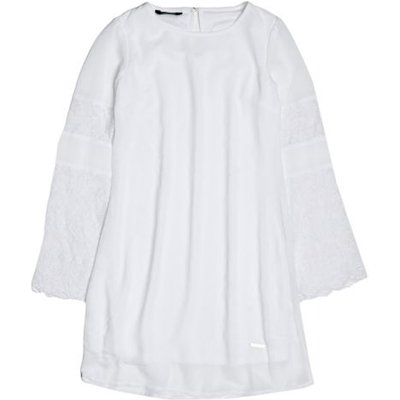 Guess Kids Marciano Dress With Lace Sleeves