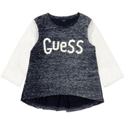 Guess Kids T-Shirt With Lace Sleeves