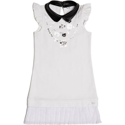 Guess Kids Dress With Print On The Front