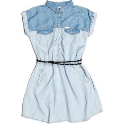 Guess Kids Denim-Look Dress