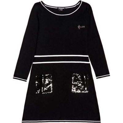 Guess Kids Dress With Sequin Pockets