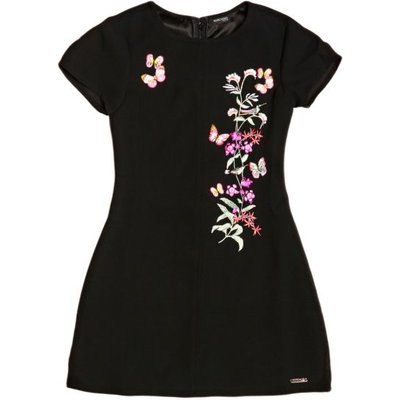 Guess Kids Dress With Flower Detail