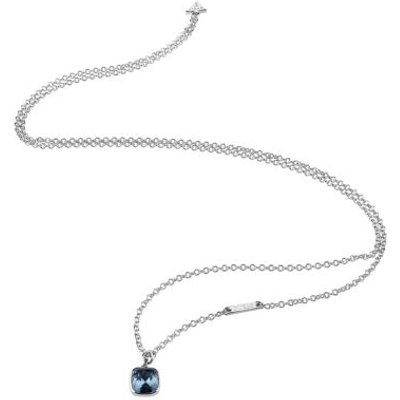 Guess Cote D'azur Rhodium-Plated Necklace