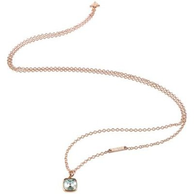 Guess Cote D'azur Rose Gold Plated Necklace
