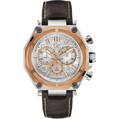 Guess G-3 Leather Sport Watch