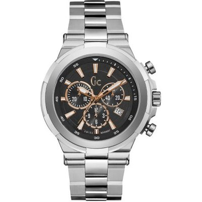 Guess Gc Structura Watch With Silver-Coloured