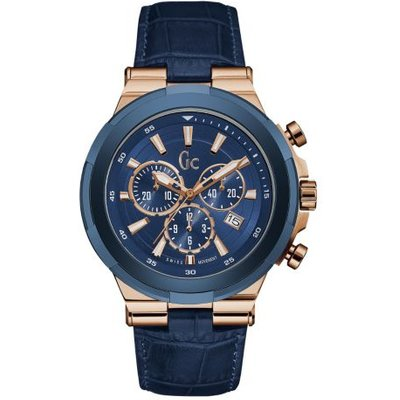 Guess Gc Structura Watch With Leather