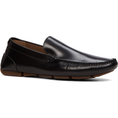 Aldo Giangrande slip on loafers, Black