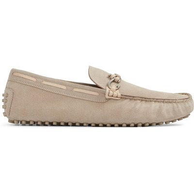 Aldo Roxbury slip on loafers, Bone